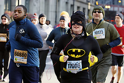 CHICAGO, Oct. 30, 2017  Runners participate Chicago Hot Chocolate 15K/5K Race in Chicago, the United States, Oct. 29, 2017. 30,000 runners participated the 10th Chicago Hot Chocolate 15K/5K Race starting at Grant Park. Finishers are treated to goody bags, a mug of hot chocolate, and treats on top of a huge celebration.  yk) (Credit Image: © Wangping/Xinhua via ZUMA Wire)