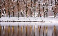 An early winter blanket of snow graces Colgate University, November 29, 2018.<br /> Mark DiOrio / Colgate University