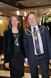 Mayor of London Borough of Hounslow COLIN ELLAR and YVONNE ? at the opening party of the London Syon Park - A Waldorf Astoria Hotel, Syon Park, Middlesex on 19th May 2011.