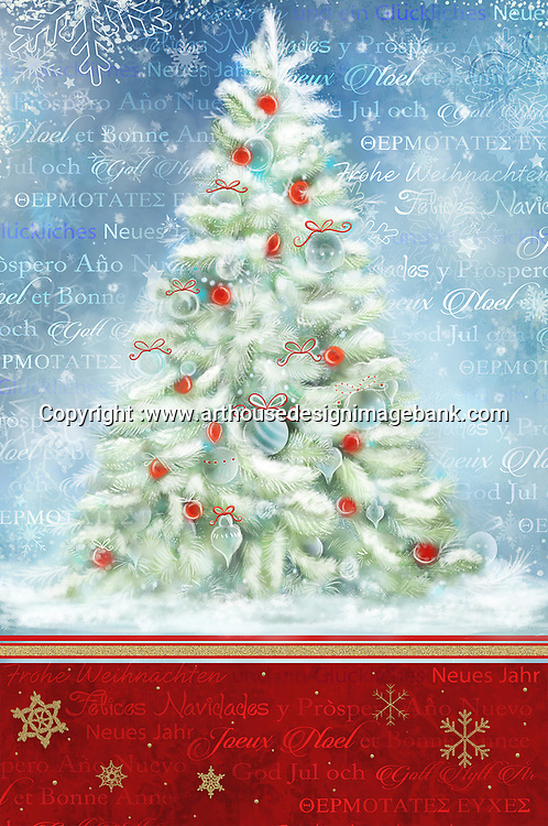 Decorative Christmas snowflake background art for corporate christmas cards