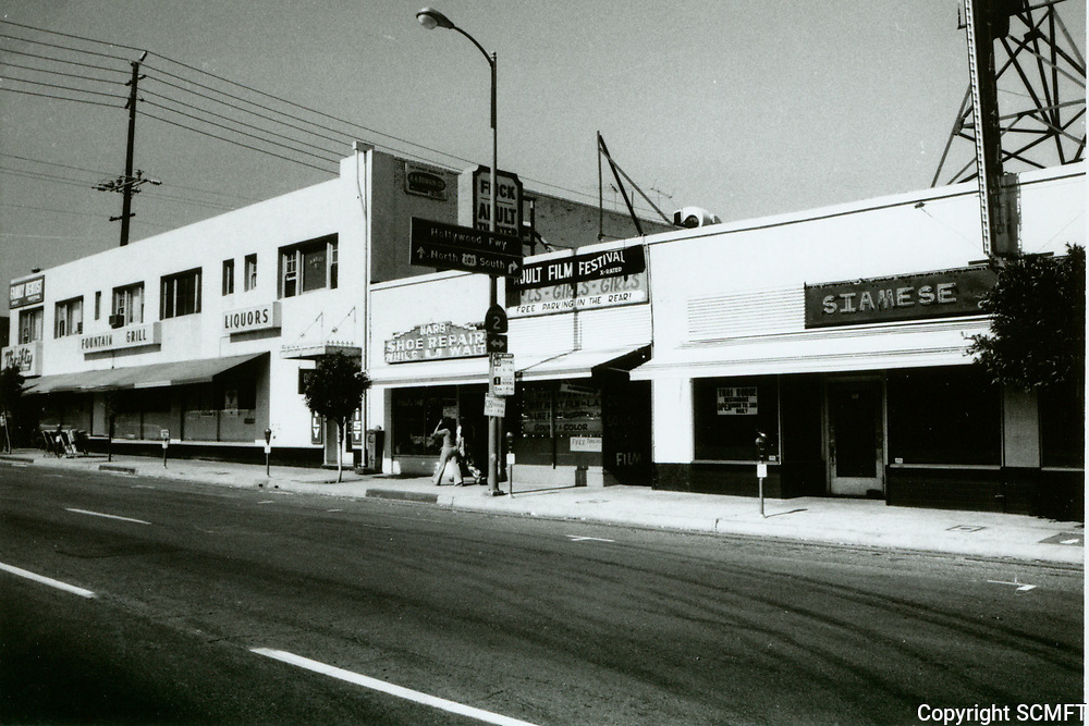 1975 Flick Adult Theater on Western Ave.