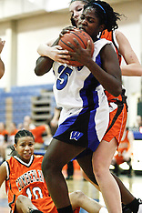 Cumberland Regional High School Girls Basketball at Williamstown High School  - 2009 Jan. 06