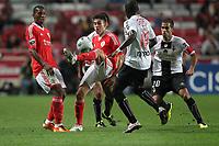 20111029: LISBON, PORTUGAL - SL Benfica vs Olhanense: Portuguese League 2011/2012. <br /> In photo: Benfica's midfielder Nicolas Gaitan.<br /> PHOTO: Carlos Rodrigues/CITYFILES