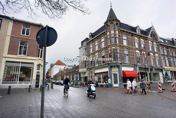 Nederland, Arnhem, 20-8-2014Wijk Klarendal. Veel Turkse en marokkaanse winkels. Groentewinkel, donner kebap . Multiculturele volkswijk aan de rand van de binnenstad. Ook modekwartier.Foto Flip Franssen