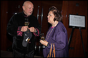 STEPHEN BERKOFF; SUZY MENKES, Liberatum Cultural Honour for Francis Ford Coppola<br /> with Bulgari Hotel & Residences, London. 17 November 2014