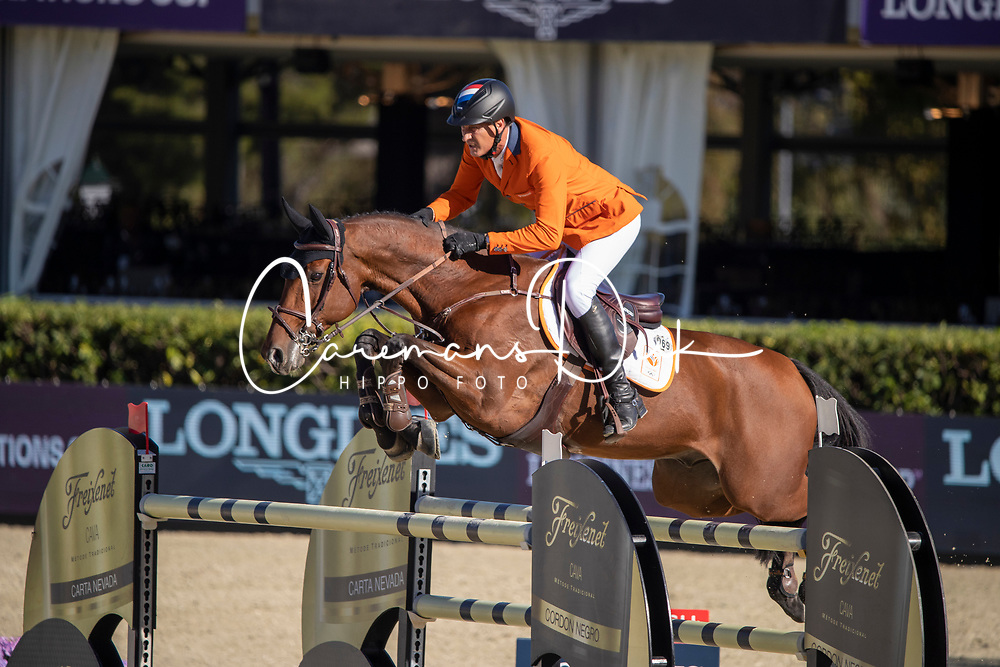 Houtzager Marc, NED, Sterrehofs Calimero<br /> FEI Jumping Nations Cup Final<br /> Barcelona 2019<br /> © Hippo Foto - Dirk Caremans<br />  03/10/2019