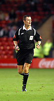 Photo: Dave Linney.<br />Walsall v Torquay United. Coca Cola League 2. 04/11/2006. Referee D Deadman