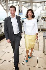 Nick Clegg and his Wife-Lib Dem Conference 23-9-12