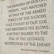 World War II Memorial on the National Mall, Washington DC