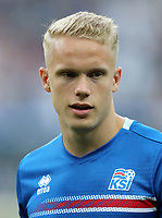 Uefa - World Cup Fifa Russia 2018 Qualifier / <br /> Iceland National Team - Preview Set - <br /> Hjortur Hermannsson