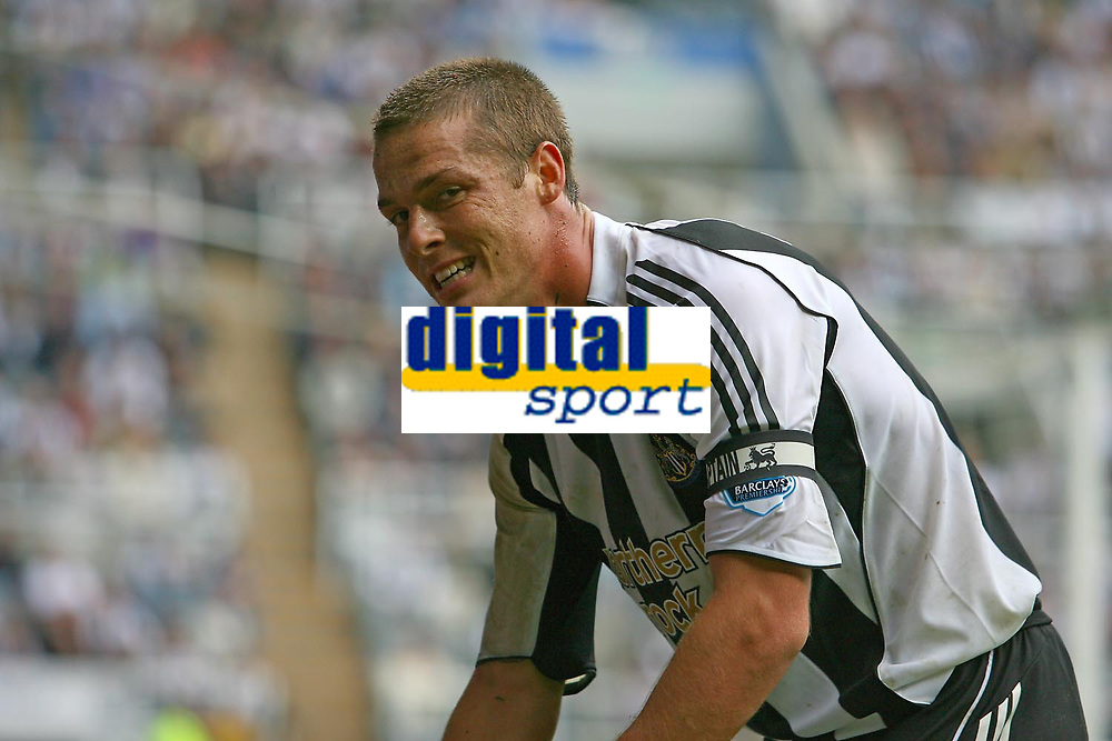 Photo: Andrew Unwin.<br />Newcastle United v Wigan Athletic. The Barclays Premiership. 19/08/2006.<br />Newcastle's Scott Parker.