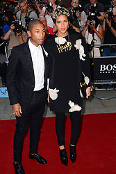 GQ Men of the Year Awards 2013.<br /> Pharrell Williams during the GQ Men of the Year Awards, the Royal Opera House, London, United Kingdom. Tuesday, 3rd September 2013. Picture by Nils Jorgensen / i-Images