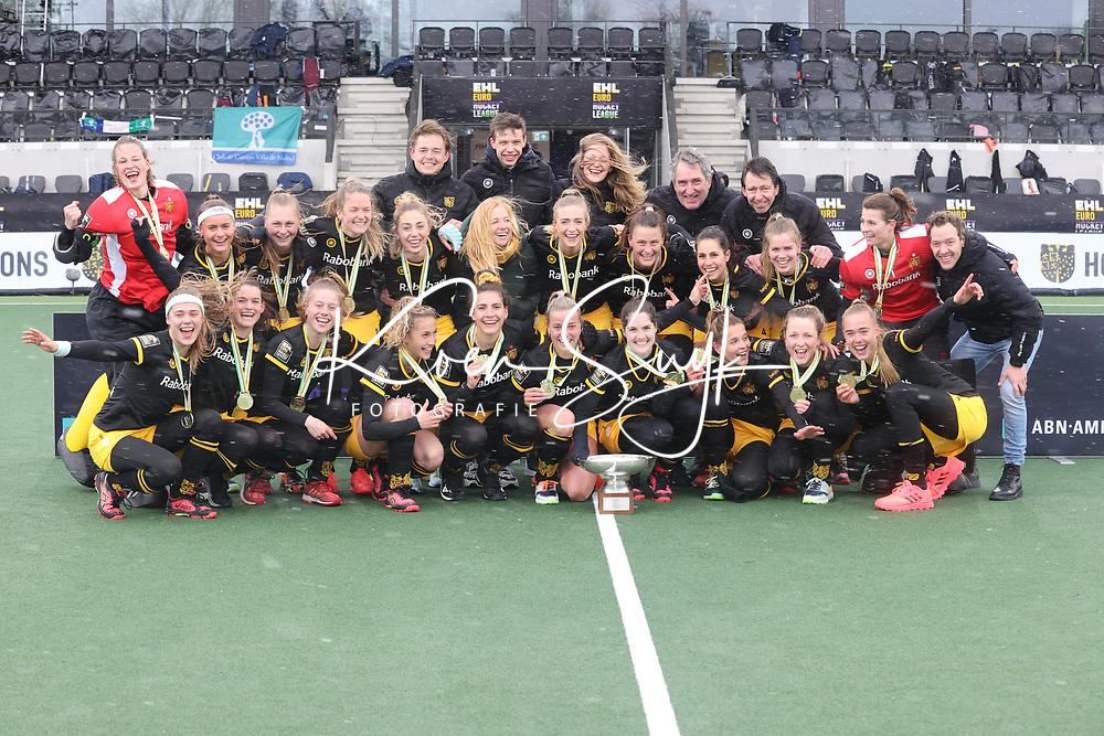 AMSTELVEEN -  tijdens  de Euro Hockey League finale dames, HC Den Bosch-Club Campo de Madrid (5-0).  COPYRIGHT KOEN SUYK