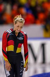 04-01-2003 NED: Europees Kampioenschappen Allround, Heerenveen<br /> Anni Friesinger GER