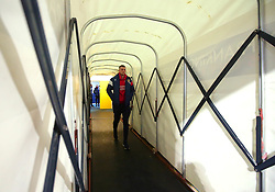 Aden Flint of Bristol City arrives at the Macron Stadium ahead of the fixture with Bolton Wanderers - Mandatory by-line: Robbie Stephenson/JMP - 02/02/2018 - FOOTBALL - Macron Stadium - Bolton, England - Bolton Wanderers v Bristol City - Sky Bet Championship
