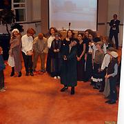 Nieuwjaarsreceptie gemeente Huizen, optreden kinderen