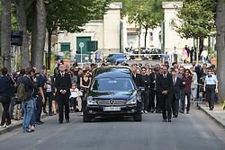Beerdigung von Sonia Rykiel auf dem Friedhof Montparnasse in Paris / 010916 *** The funeral of the late French fashion designer Sonia Rykiel, at the Montparnasse cemetery in Paris, France, September 1 2016.
