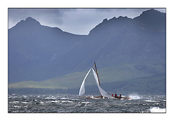 Day five of the Fife Regatta, Race from Portavadie on Loch Fyne to Largs. <br /> The Truant, Ross Ryan, GBR, Gaff Cutter 8mR, Wm Fife 3rd, 1910<br /> <br /> <br /> * The William Fife designed Yachts return to the birthplace of these historic yachts, the Scotland's pre-eminent yacht designer and builder for the 4th Fife Regatta on the Clyde 28th June–5th July 2013<br /> <br /> More information is available on the website: www.fiferegatta.com