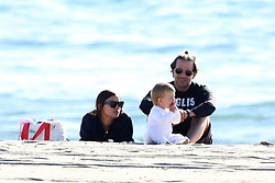 EXCLUSIVE: ** NO WEB UNTIL 0915AM PST 25TH JAN 2018 ** Bradley Cooper takes daughter Lea to the seaside with wife Irina. The family went to Sunset beach and had a picnic including some quick diaper changing on the shore. ***SPECIAL INSTRUCTIONS*** Please pixelate children's faces before publication.***. 23 Jan 2018 Pictured: Bradley Cooper, Irina and Lea. Photo credit: MB / MEGA TheMegaAgency.com +1 888 505 6342