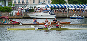Henley-On-Thames, Berkshire, UK.,Sunday, 15.08.21,   Final of the Double Scull Challenge Cup , Bow Flintan McCathy and Paul O'DONAVAN, 2021 Henley Royal Regatta, Henley Reach, River Thames, Thames Valley,  [Mandatory Credit © Peter Spurrier/Intersport Images], Finals' Day,