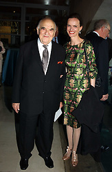 LORD WEIDENFELD and BETTINA VON HASE at the opening of 'Princely Splendour; The Dresden Court 1580-1620' a new temporary exhibition at The Gilbert Collection, Somerset House, London sposored by Hubert Bruda Media, The Schroder Family and WestLB AG on 8th June 2005.<br />