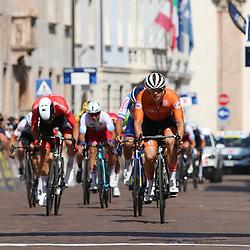 TRENTO (ITA): CYCLING: SEPTEMBER 11th: <br />Men U23 Marijn van den Berg werd 8e