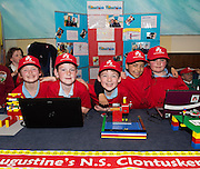 St Augustine's Clontuskert NS at the annual Junior FIRST Lego League run by Galway Education Centre, in the Radisson blu Hotel.  Photo:Andrew Downes<br />  Photo:Andrew Downes, XPOSURE