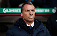 Football - 2019 / 2020 Premier League - Burnley vs. Leicester City<br /> <br /> Brendan Rodgers manager of Leicester City at Turf Moor.<br /> <br /> COLORSPORT