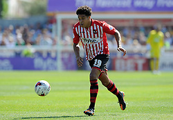 Exeter City's Troy Brown - Photo mandatory by-line: Harry Trump/JMP - Mobile: 07966 386802 - 08/08/15 - SPORT - FOOTBALL - Sky Bet League Two - Exeter City v Yeovil Town - St James Park, Exeter, England.