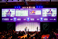 January 11, 2019 - Chicago, IL, U.S. - CHICAGO, IL - JANUARY 11: Siad Haji speaks after being selected as the number two overall pick to the San Jose Earthquakes in the first round of the MLS SuperDraft on January 11, 2019, at McCormick Place in Chicago, IL. (Photo by Patrick Gorski/Icon Sportswire) (Credit Image: © Patrick Gorski/Icon SMI via ZUMA Press)