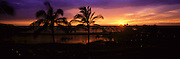 Sunset, Waikoloa, Island of Hawaii, Hawaii, USA<br />