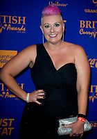 Lisa Allen at  the British Curry Awards, at Evolution Battersea park London.