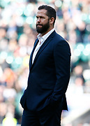 Andy Farrell Head Coach of Ireland before kick off during the Guinness Six Nations between England and Ireland at Twickenham  Stadium, Sunday, Feb. 23, 2020, in London, United Kingdom. (ESPA-Images/Image of Sport)