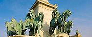 H?s?k Tere. Hero Square - Budapest - Hungary