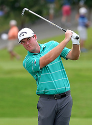 Grayson Murray during first round action of the PGA Championship at Quail Hollow Club Thursday, Aug. 10, 2017 in Charlotte, N.C. (Photo by Jeff Siner/Charlotte Observer/TNS/Sipa USA)  *** Please Use Credit from Credit Field ***