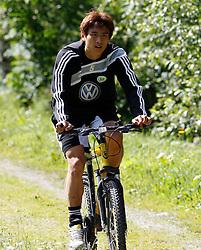 19.07.2011, Bad Kleinkirchheim, AUT, Fussball Trainingscamp VFL Wolfsburg, im Bild Koo , EXPA Pictures © 2011, PhotoCredit: EXPA/Oskar Hoeher