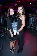 NO FEE PICTURES<br /> 31/12/15Kate Mac and Holly Carpenter at the Coronas as they ring in the new year at the 3Arena, part of the New Years Festival in Dublin. nyf.com running from 30th Dec to 1st Jan in Dublin. Picture: Arthur Carron