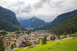 Canazei, Italy, Dolomite Mountains,  Trento, Italy. Another perfect German alpine village.