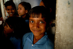 Chitrakoot District, Uttar Pradesh, India: Children attend school in the  Chitrakoot District of Uttar Pradesh. (Photo by Ami Vitale)