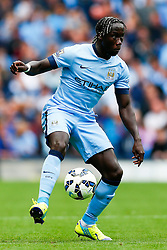 Bacary Sagna of Manchester City in action - Photo mandatory by-line: Rogan Thomson/JMP - 07966 386802 - 30/08/2014 - SPORT - FOOTBALL - Manchester, England - Etihad Stadium - Manchester City v Stoke City - Barclays Premier League.