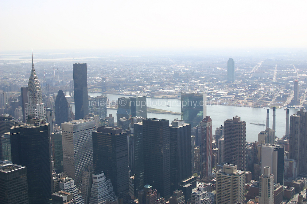View from the Empire State Building, New York