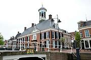Dokkum is een stad in de Nederlandse gemeente Dongeradeel en telt ongeveer 13 000 inwoners. Dokkum is gelegen op de grens tussen de Kleistreek en de Friese Wouden, in het noordoosten van de provincie Friesland. Dokkum is één van de Friese elf steden.<br /> <br /> Dokkum is a town in the Dutch municipality Dongeradeel and has 13 000 people. Dokkum is located on the border between the region and the Frisian Woodlands Clay, in the northeast of the province of Friesland. Dokkum is one of the eleven Frisian cities.<br /> <br /> Op de foto / On the photo:  Stadhuis / Cityhall