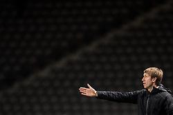 December 7, 2017 - Berlin, Tyskland - 171207 Östersunds tränare Graham Potter under fotbollsmatchen i Europa League mellan Hertha Berlin och Östersund den 7 december 2017 i Berlin  (Credit Image: © Petter Arvidson/Bildbyran via ZUMA Wire)