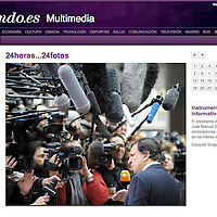 USE ARROWS ← → on your keyboard to navigate this slide-show<br /> <br /> El Mundo - Spanish newspaper<br /> European Commission President Jose Manuel Barroso arrives at the European Union leaders summit in Brussels November 7, 2008.<br /> Photo: Reuters / Ezequiel Scagnetti