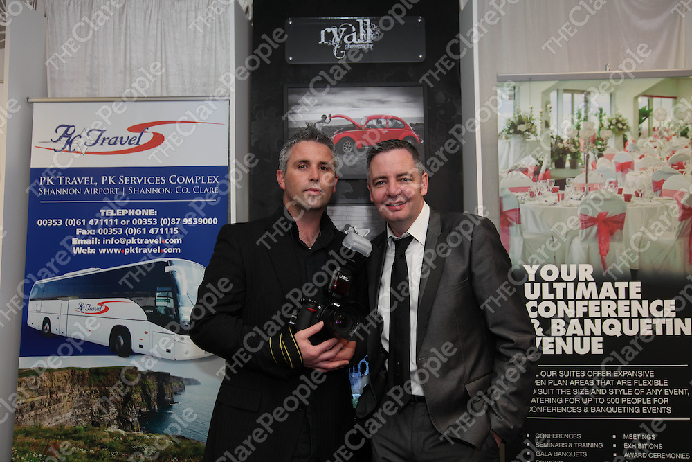 Free Pics     With Compliments<br /> Dermot Ryall and James Sexyon at the opening of One Wedding Centre, a permanent wedding centre for the mid west, located at the Elite Business Park in Smithstown Ind Estate, Shannon on Saturday.<br /> Pic. Brian Arthur/ Press 22.