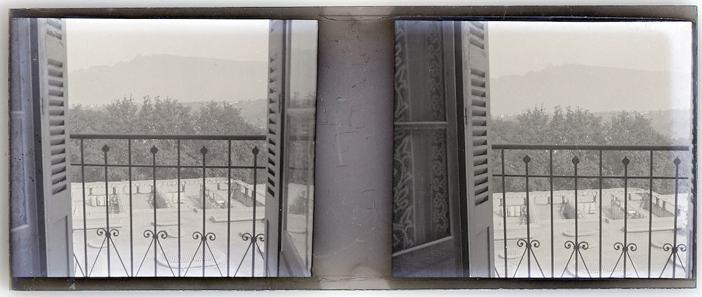 stereo window view image early 1900s