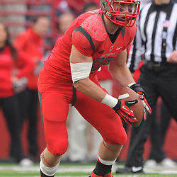 10 November 2012: Rutgers Scarlet Knights tight end Paul Carrezola (89) makes a reception during NCAA college football action between the Rutgers Scarlet Knights and Army Black Knights at High Point Solutions Stadium in Piscataway, N.J.. Rutgers defeated Army 28-7.