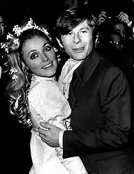 Jan. 20, 1968 - London, England, U.K. - Actress SHARON TATE and Polish born film director ROMAN POLANSKI's wedding at the Chelsea registry office in London. Sharon Tate was murdered the next year on August 9, 1969 by members of the Manson family. She was eight months pregnant. (Credit Image: © Keystone Press Agency/Keystone USA via ZUMAPRESS.com)