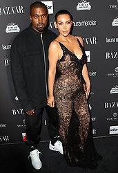 September 9, 2016 - New York, New York, United States - Kim Kardashian and Kanye West arriving at Harper's Bazaar Celebrates 'ICONS By Carine Roitfeld' at The Plaza Hotel on September 9, 2016 in New York City  (Credit Image: © Nancy Rivera/Ace Pictures via ZUMA Press)
