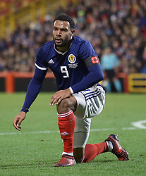 Scotland's Matt Phillips wears a poppy armband during the International Friendly match at Pittodrie, Aberdeen. PRESS ASSOCIATION Photo. Picture date: Thursday November 9, 2017. See PA story SOCCER Scotland. Photo credit should read: Andrew Milligan/PA Wire. RESTRICTIONS: Use subject to Scottish FA restrictions. Editorial use only. Commercial use only with prior written consent of the Scottish FA. No editing except cropping.